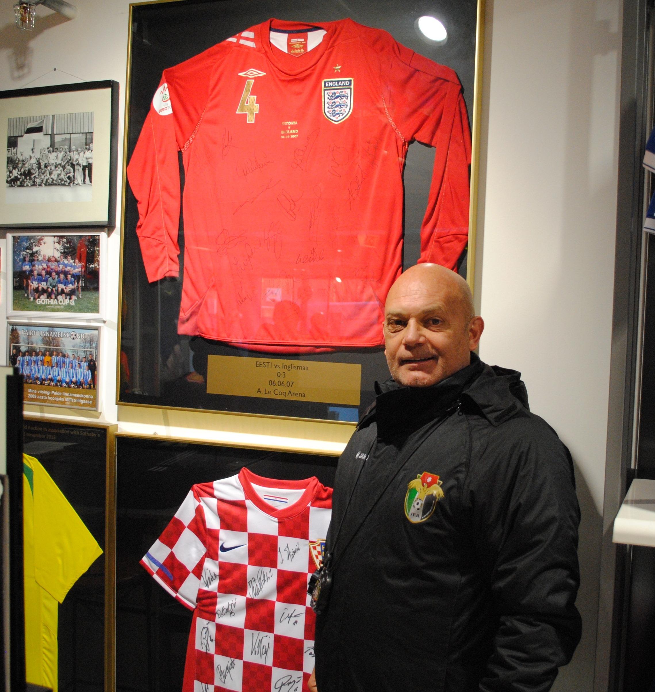 62f615f1cbd Eesti järgmist vastast juhendab tituleeritud Ray Wilkins. News. Jordaania koondise  peatreener, endine ...