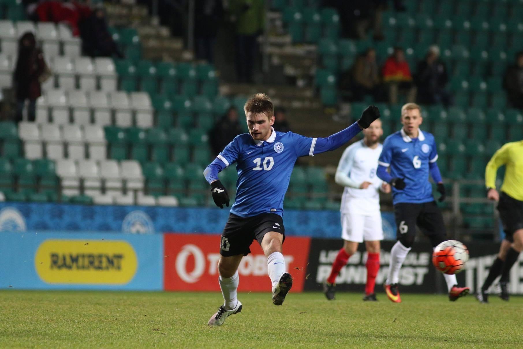 50fca5e8ad4 Eesti U23 koondis pidas International Challenge Trophy raames täna A. Le  Coq Arenal haarava mängu Inglismaa C-koondisega. Matši võitsid külalised  tulemusega ...
