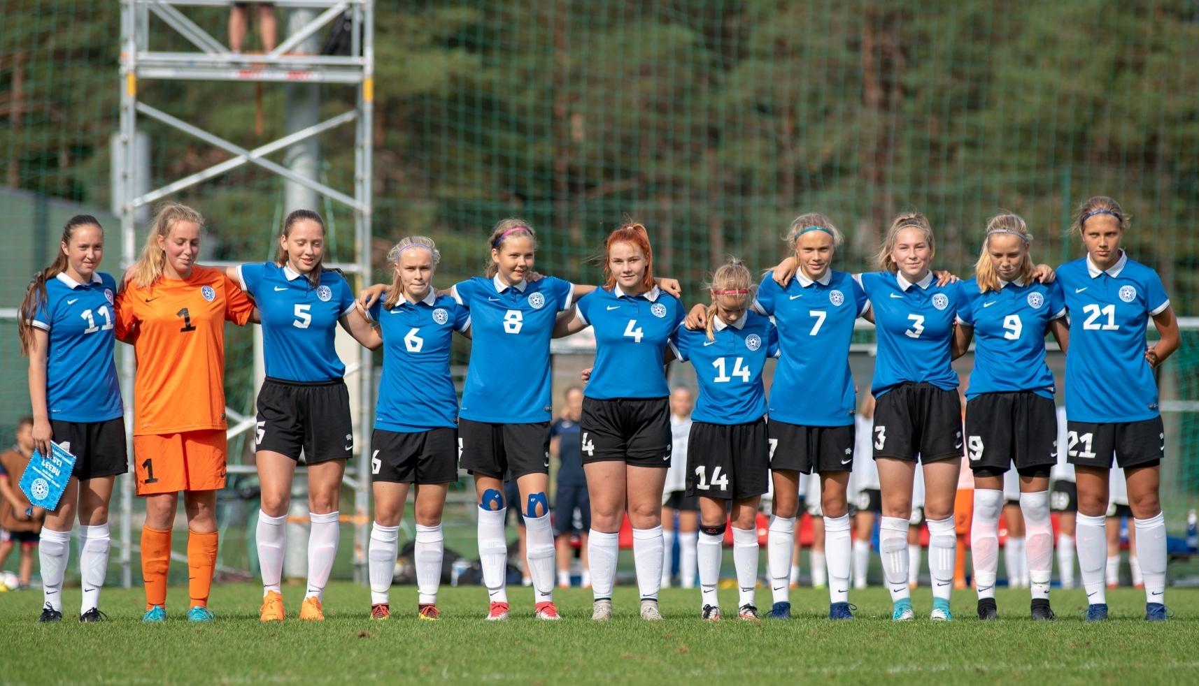 dc82cda98cb GALERII: Tüdrukute U15 koondis alistas suurelt Leedu - Uudised