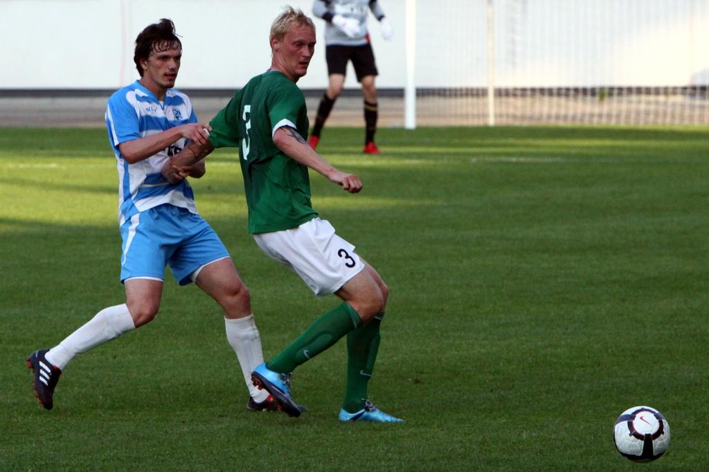 1fe41a226b0 Eesti jalgpalli Meistriliiga 30. vooru keskses mängus sai Nõmme JK Kalju  võõrsil Tallinna FC Levadialt viigipunkti, samal ajal alistas tiitli poole  sammuv ...
