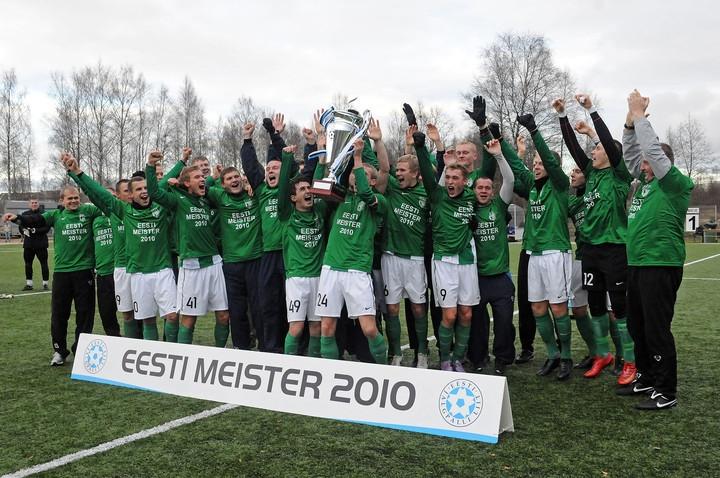 05c0f536b7e Jalgpalli Meistriliiga 2010. aasta viimase vooru sümboolsesse koosseisu  kuuluvad FC Flora, FC Levadia, Narva JK Transi, Nõmme JK Kalju ja FC  Kuressaare ...