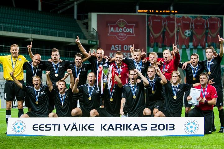 ed1354c81bc Teise liiga Lääne/lõuna tsoonis teisel kohal olev FCF Tallinna Ülikool  tahab kaitsta mullu võidetud Väikese karika trofeed, mängida edukalt liigas  ja UEFA ...