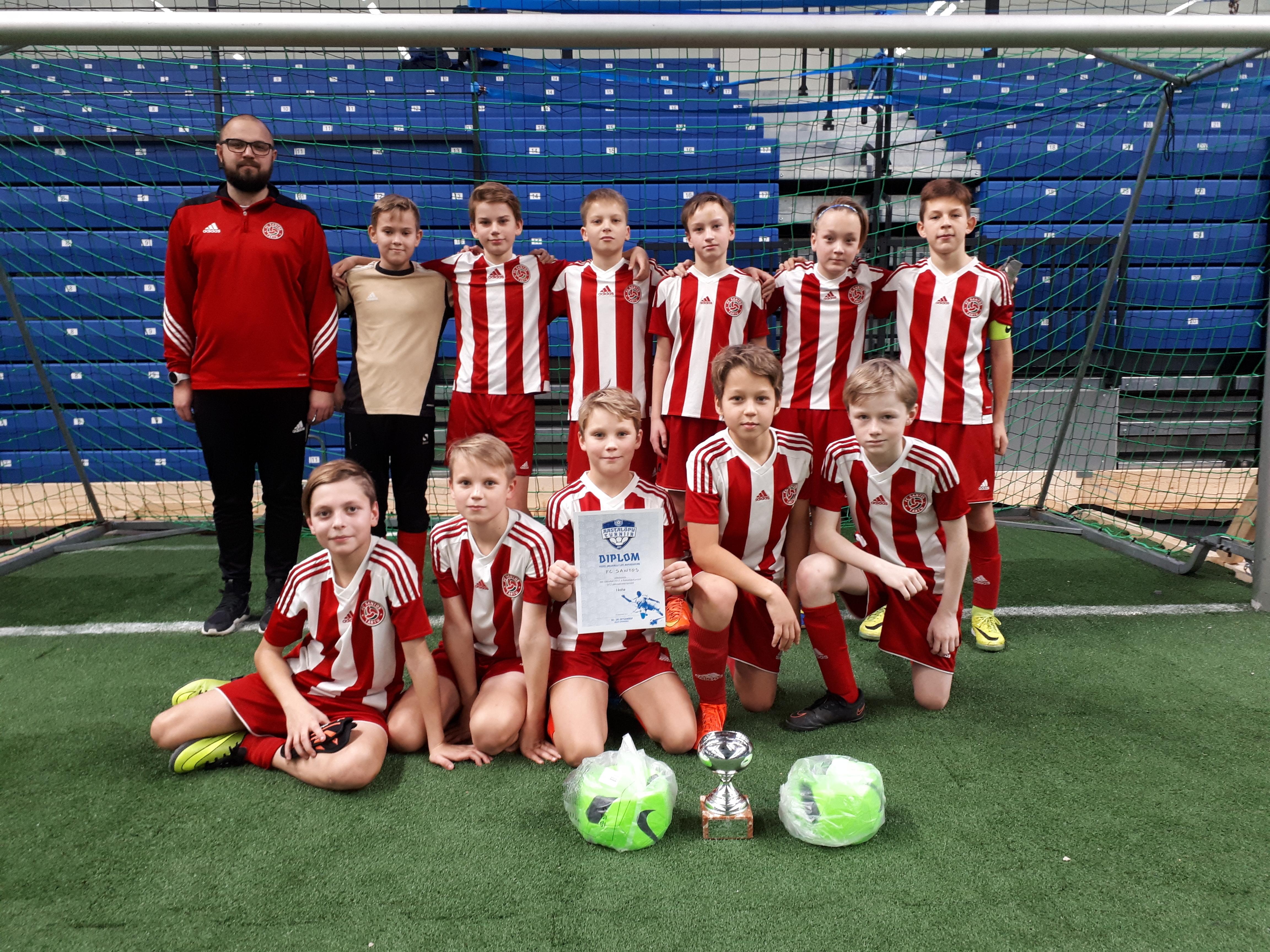 658a200642cfe Aastalõputurniiri U12 poiste vanuseklassis võttis võidu Tartu FC Santos